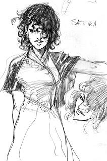 The Princess Sathyra of Tosegio